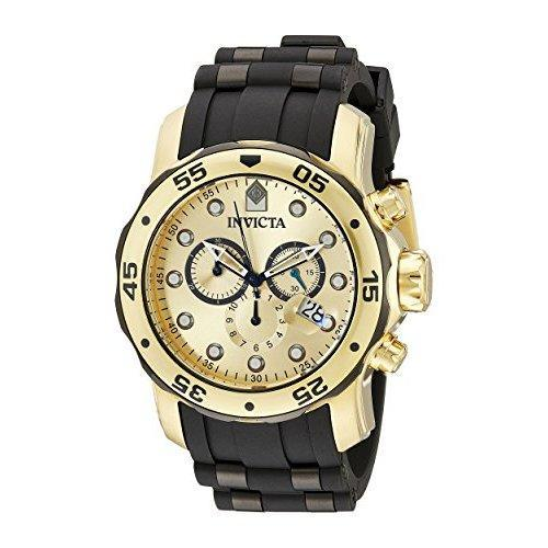 Invicta 18041 Two Tone Stainless Polyurethane Watch