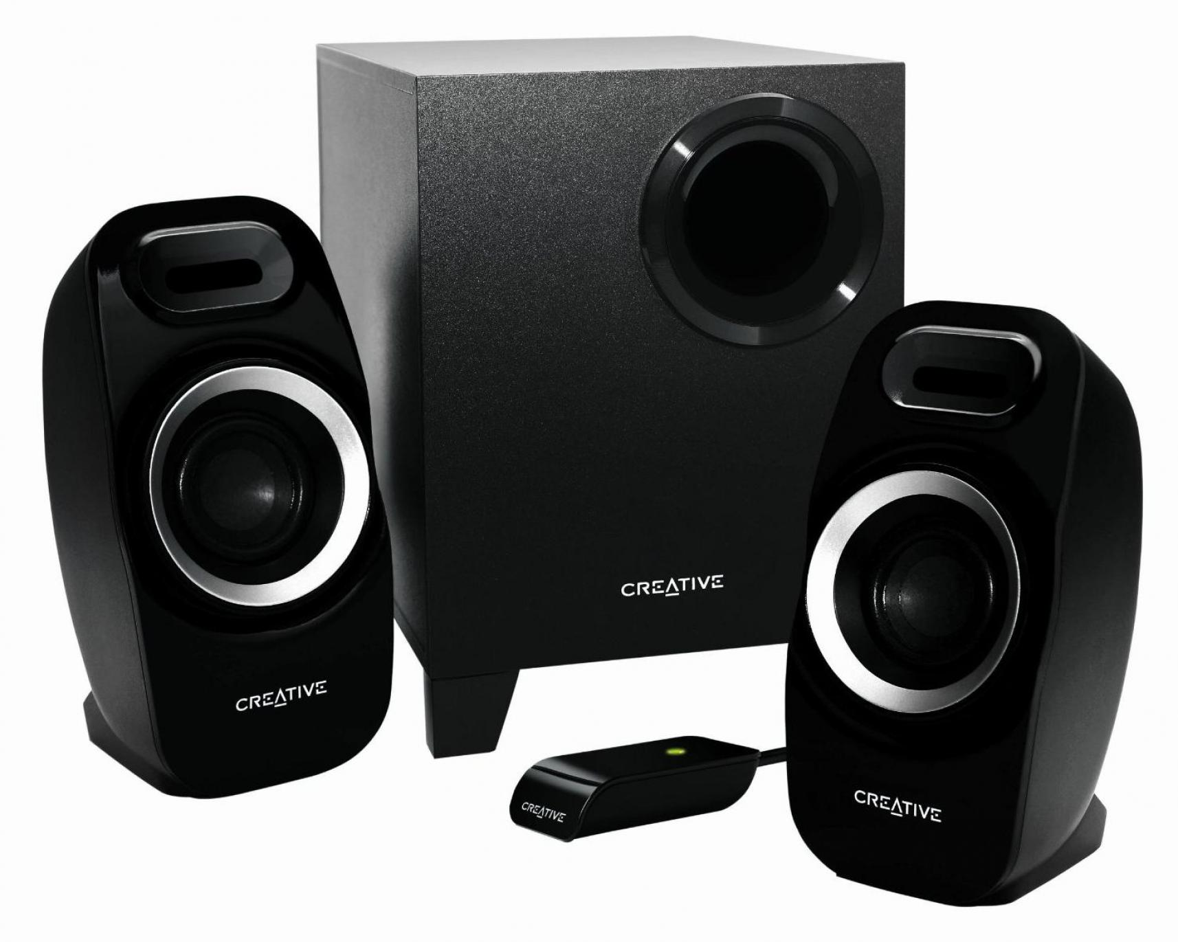 Logitech 980 000012 s120 2 piece black desktop computer speaker set - Creative Labs Speaker 51mf0415aa002 Inspire T3300 2 1 Speaker System Retail Walmart Com