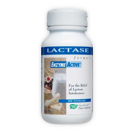Nature's Way Lactase Enzyme, Capsule, 100 Count