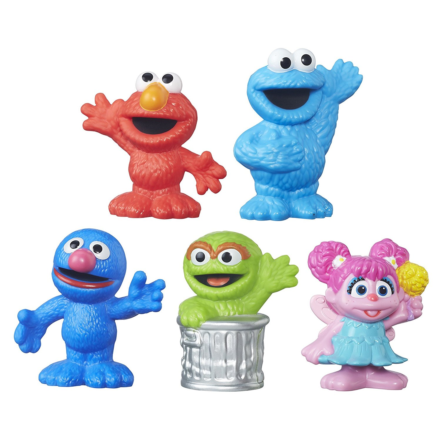 Playskool Collector Pack 5 Figures Sized For Little Hands By Sesame Street
