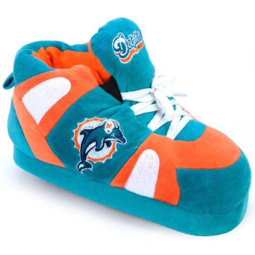 Comfy Feet NFL Miami Dolphins Slipper by Happy Feet