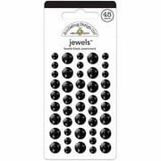 Doodlebug Adhesive Jewels, 45pk