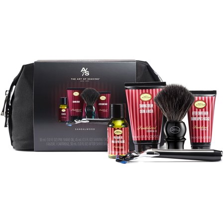 The Art of Shaving Travel Shave Kit with Synthetic Brush - -