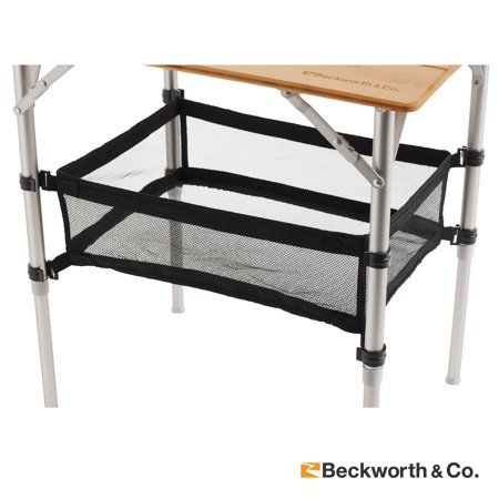 Cargo Storage Net Accessory Standard Size for Beckworth & Co. Bamboo Folding Table ()