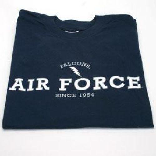 Air Force Falcons T-shirt - Falcons Logo, Navy