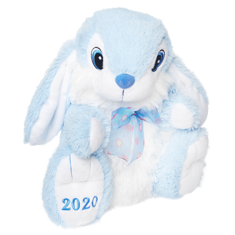 Pack of 3 Big Eyed Easter Bunny Stuffed Animal Set