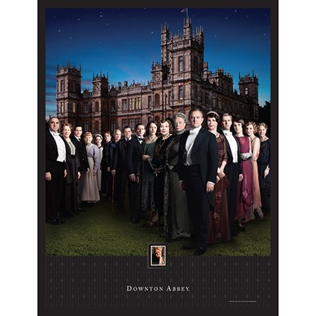 Imperial Mint Downton Abbey Season 4 Framed Artwork w/ Postage Stamp