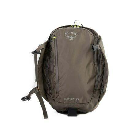 Osprey Packs Porter 46 Travel Backpack has Stowaway Shoulder Harness - Castle (Osprey Porter 46 Travel Pack)