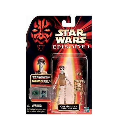 Star Wars: Episode 1 Ody Mandrell Action Figure - Star Wars Characters Episode 7