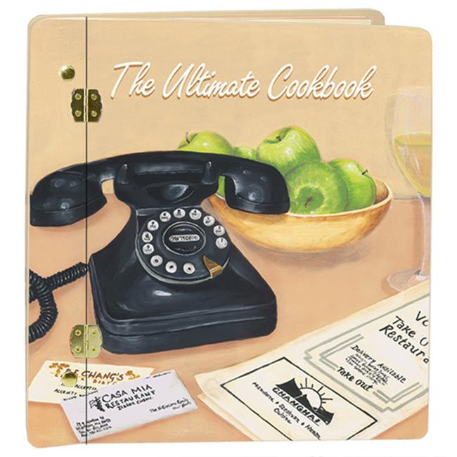 Lexington Studios 12-Album:12009UC Ultimate Cookbook -Cream Large Album by Lexington Studios