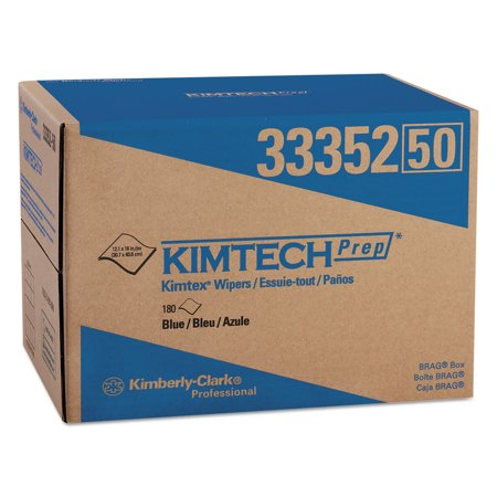 Kimtech Wipers - KIMTECH Disposable Wipes,Box,Unscented 33352