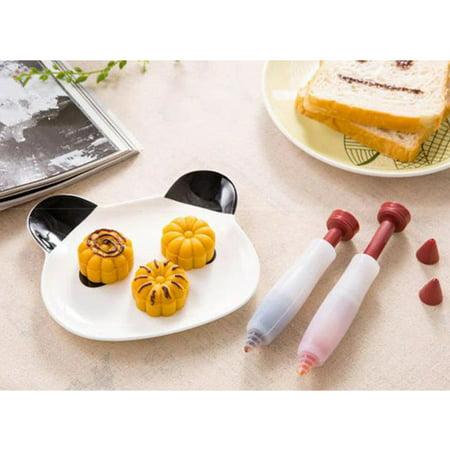 - 1Pc Silicone Cake Decorating Pen Dessert Decorator Chocolate Fondant Cream Food Writing Pen