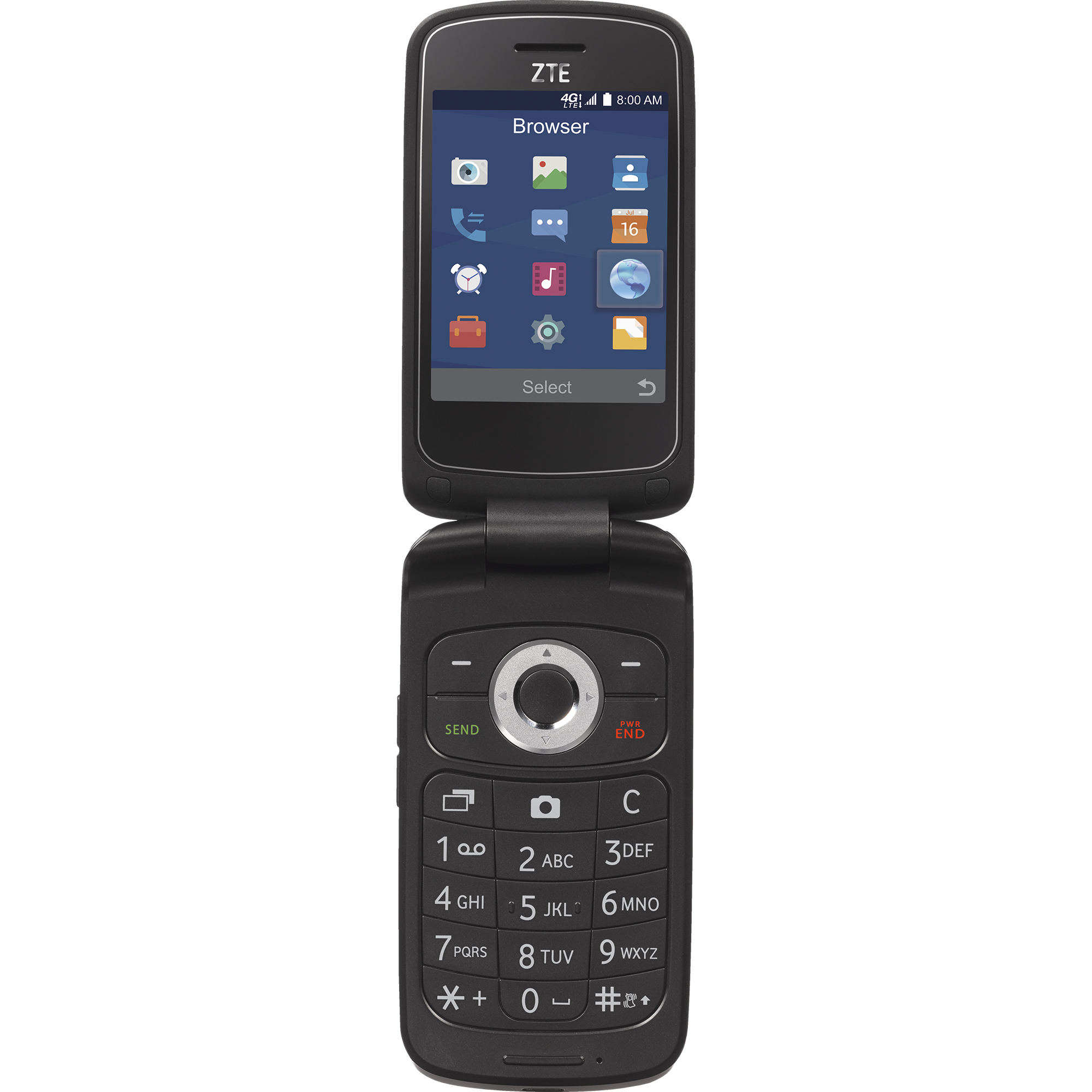 Total Wireless ZTE Z233VL 4G LTE Prepaid Phone