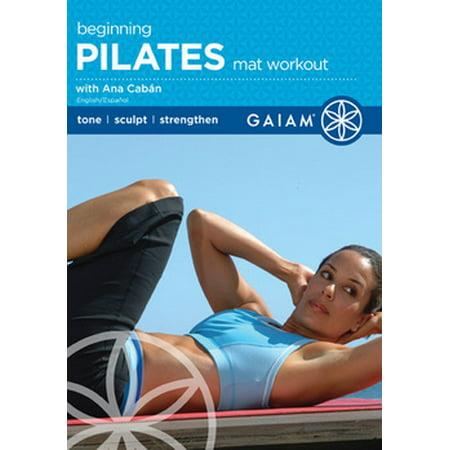 Pilates Beginning Mat Workout (DVD)