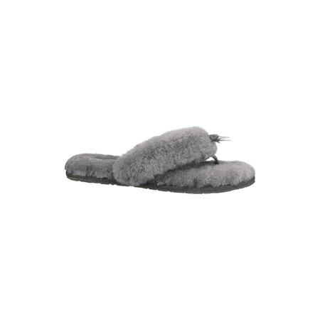73daea89e19 UGG Women's Fluff Flip Flop Ii Grey