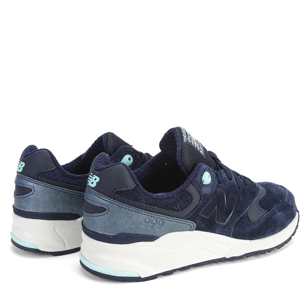 wholesale dealer 45469 b6962 New Balance - New Balance Women s 999 Elite Edition Meteorite Sneakers  WL999GMT Navy Aqua - Walmart.com