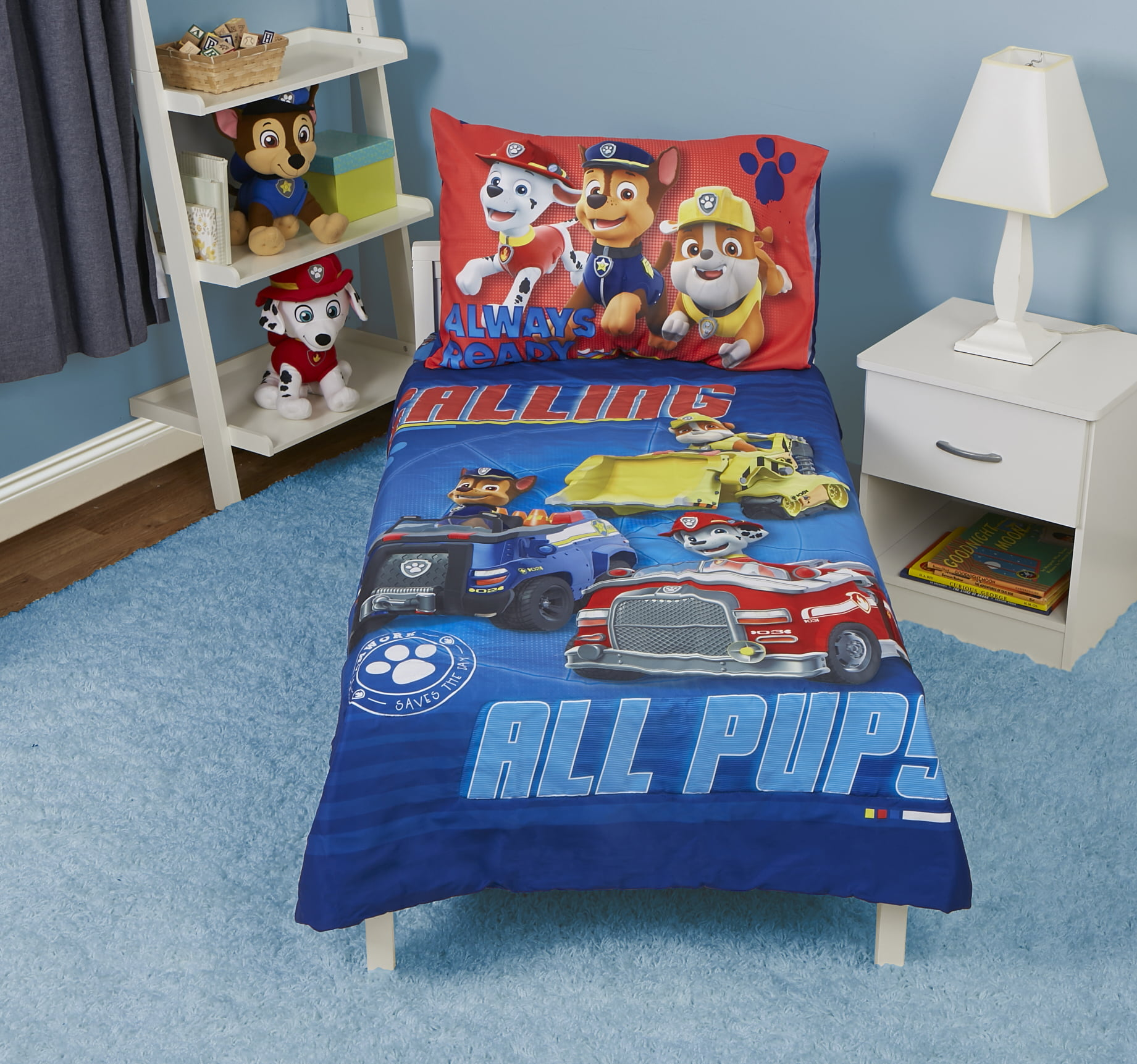 Paw Patrol Lampshade Ideal To Match Paw Patrol Wallpaper Paw Patrol Duvet Covers