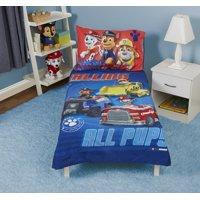 Paw Patrol Calling All Pups 4 pc Toddler Bed Set