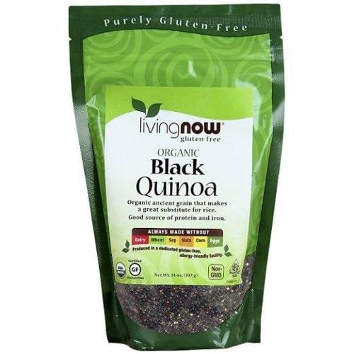 Now Foods Black Quinoa Org 14 Oz (Pack Of 10)