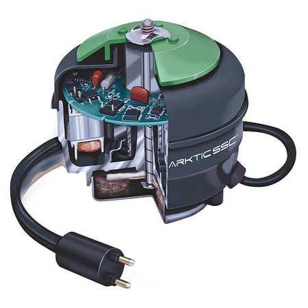 MORRILL 5R019 Unit Bearing Motor,ECM,1/4 In. L,Unit