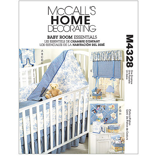 McCall's Pattern Baby Room Essentials, 1 Size Only