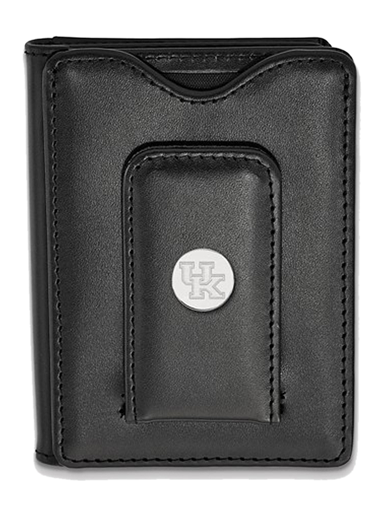 University Of Kentucky Wallet in 925 Rhodium Flashed Silver