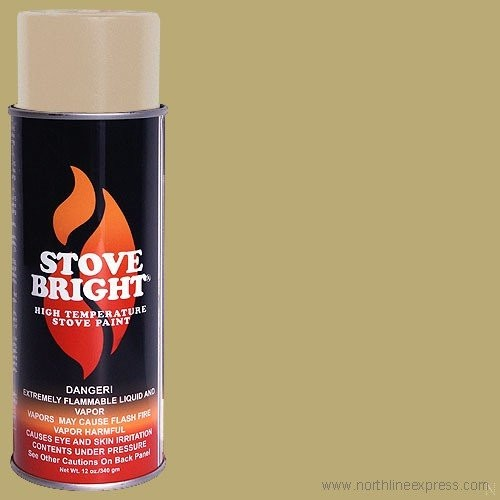 Stove Bright 1200 Degree High Temp Paint-Surf Sand