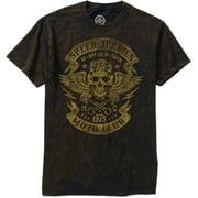 Skull Biker Club Big Men's Graphic Tee