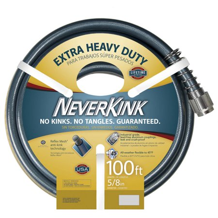 Image of Apex Neverkink Extra Heavy Duty Garden Hose, 109'