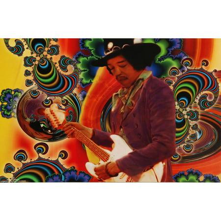Jimi Hendrix Poster Print