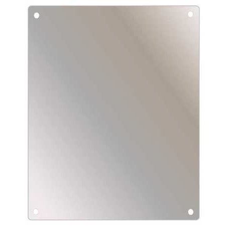 "KETCHAM Shatterproof Safety Mirror, Stainless Steel, 30""H x 24""W, SSF-2430"
