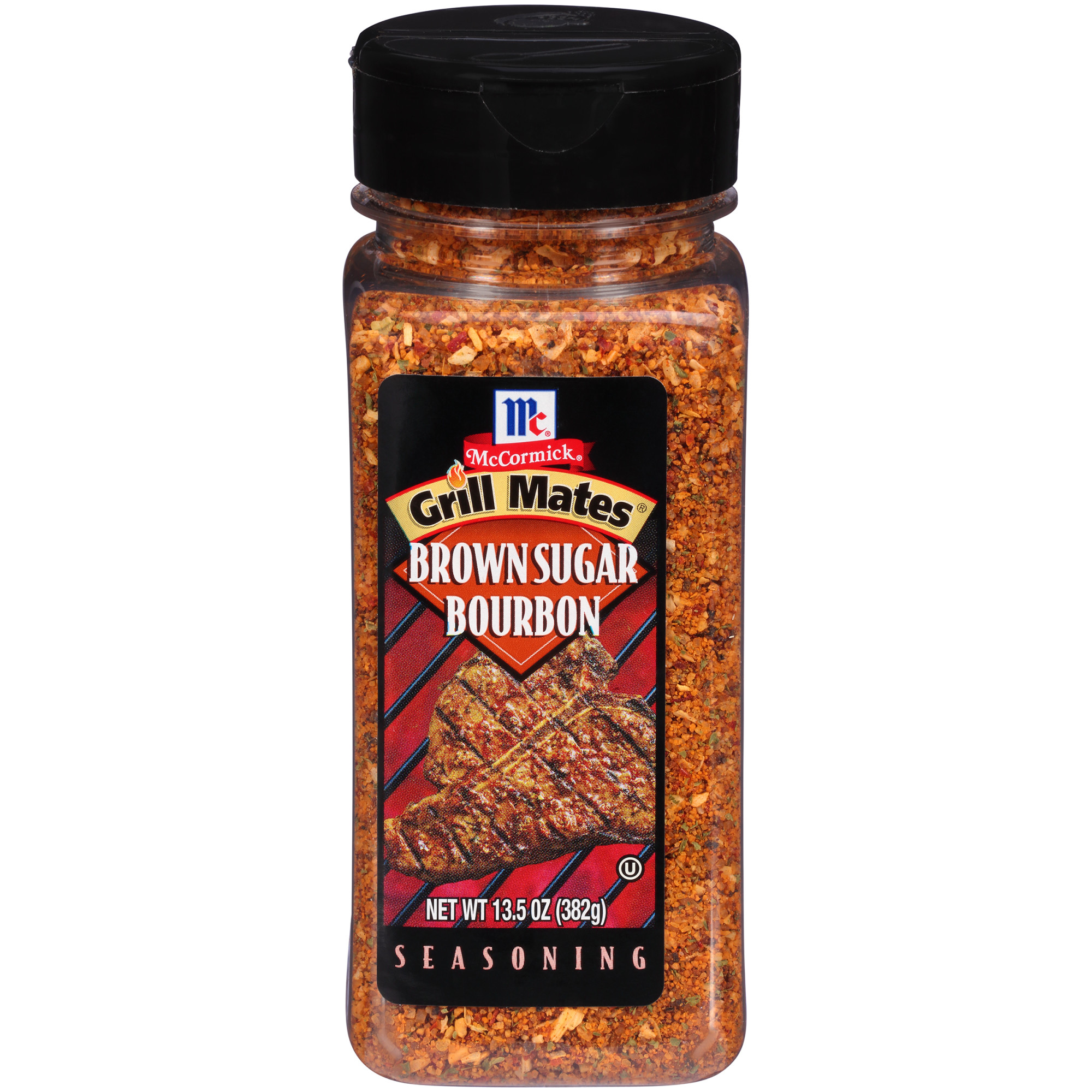 McCormick Grill Mates Brown Sugar Bourbon Seasoning, 13.5 oz