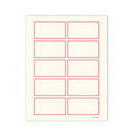 Gartner Studios 78465 Red Border Business Cards, 250 Count Dot Border Photo Cards