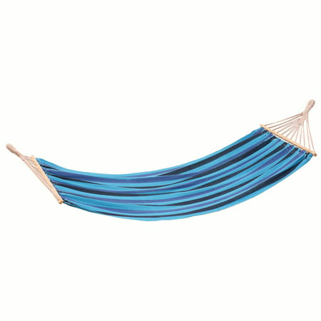 Stansport Bahamas Cotton Hammock - Single - Blue - 78