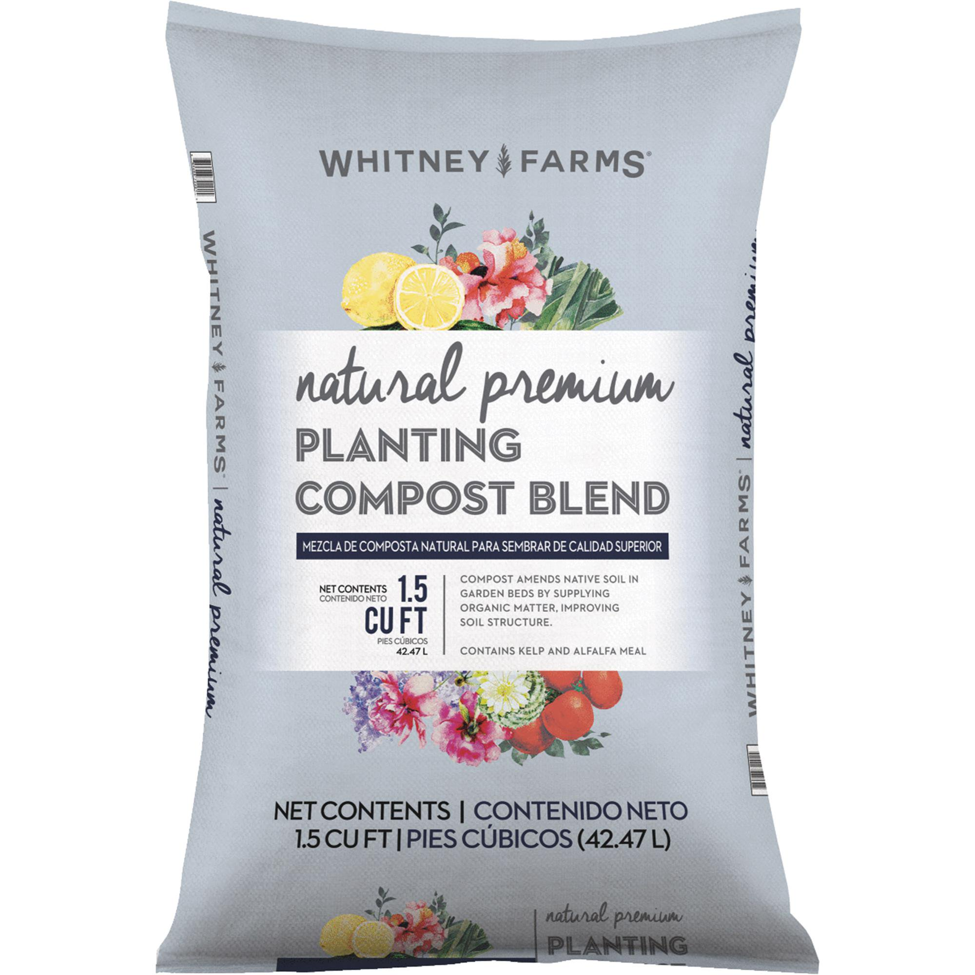 Whitney Farms Natural Premium Lawn & Garden Compost by Scotts Organic Group