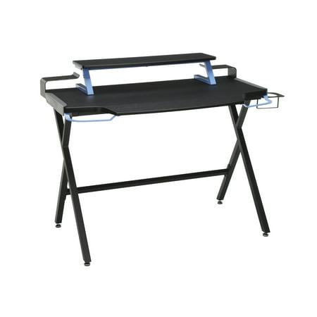 RESPAWN 1000 Gaming Computer Desk, in Blue (Best Gaming Desk Setup)