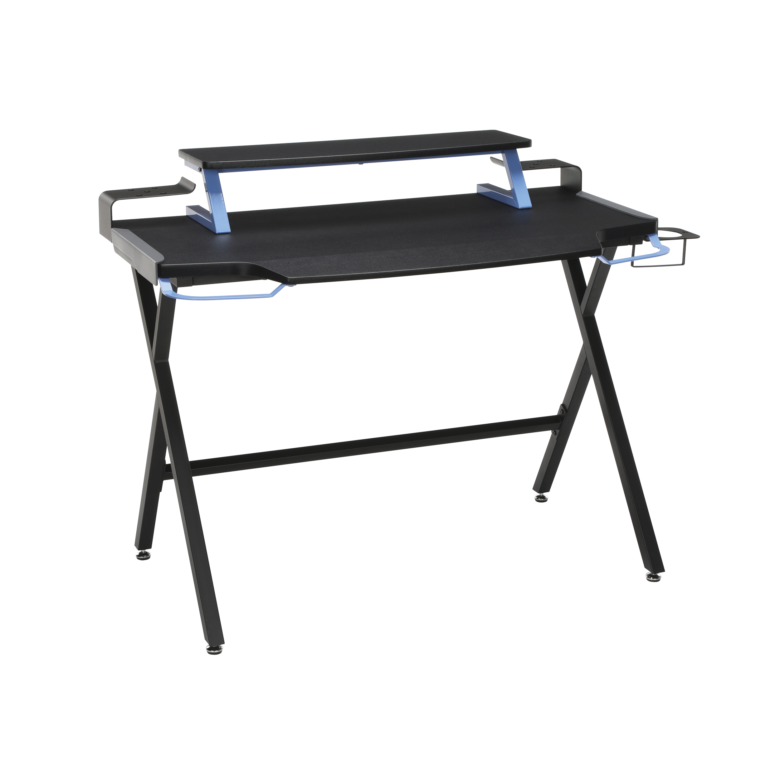 RESPAWN 1000 Gaming Computer Desk, in Blue (RSP-1000-BLU)