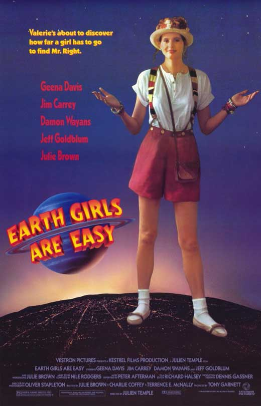 Earth Girls Are Easy POSTER Movie C Mini Promo by