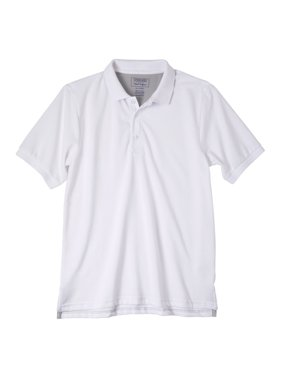 Cherokee Boys School Uniform Short Sleeve Pique Polo Shirt (Little Boys & Big Boys)