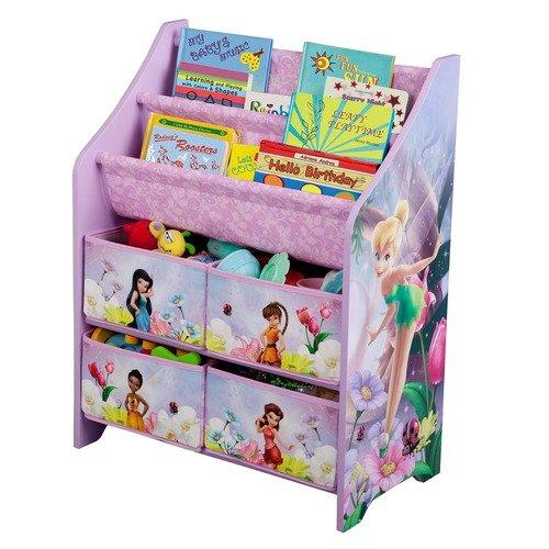 Delta Children's Products Disney Fairies Book and Toy Organizer