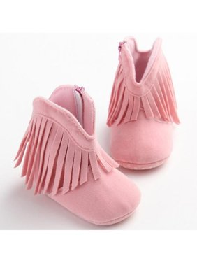 88f947f4150cd Product Image Ropalia Newborn Toddler Boots Shoes Fringe Tassel Boots Baby  Infant Boy Girl Soft Soled Winter Shoes