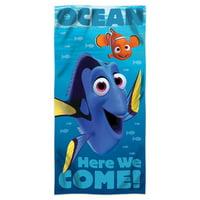 "Disney Finding Dory """"Sea Swim"""" Beach Towel"