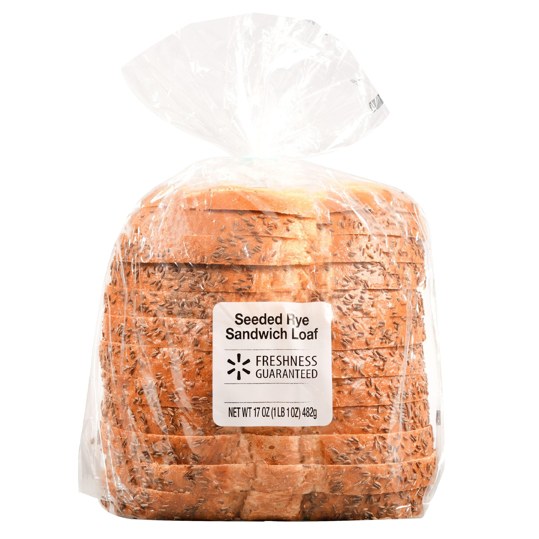 Freshness Guaranteed Seeded Rye Sandwich Loaf, 17 oz