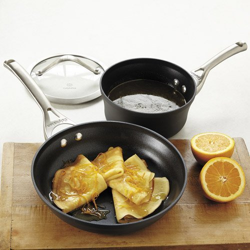 Calphalon Contemporary Nonstick Saucepan and Frying Pan by