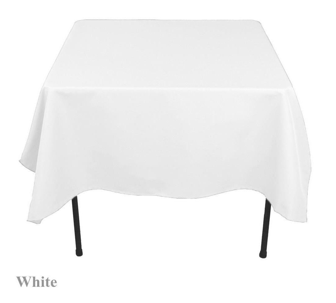 "60""x 60 inch Square Overlay Tablecloth 100% polyester ..."