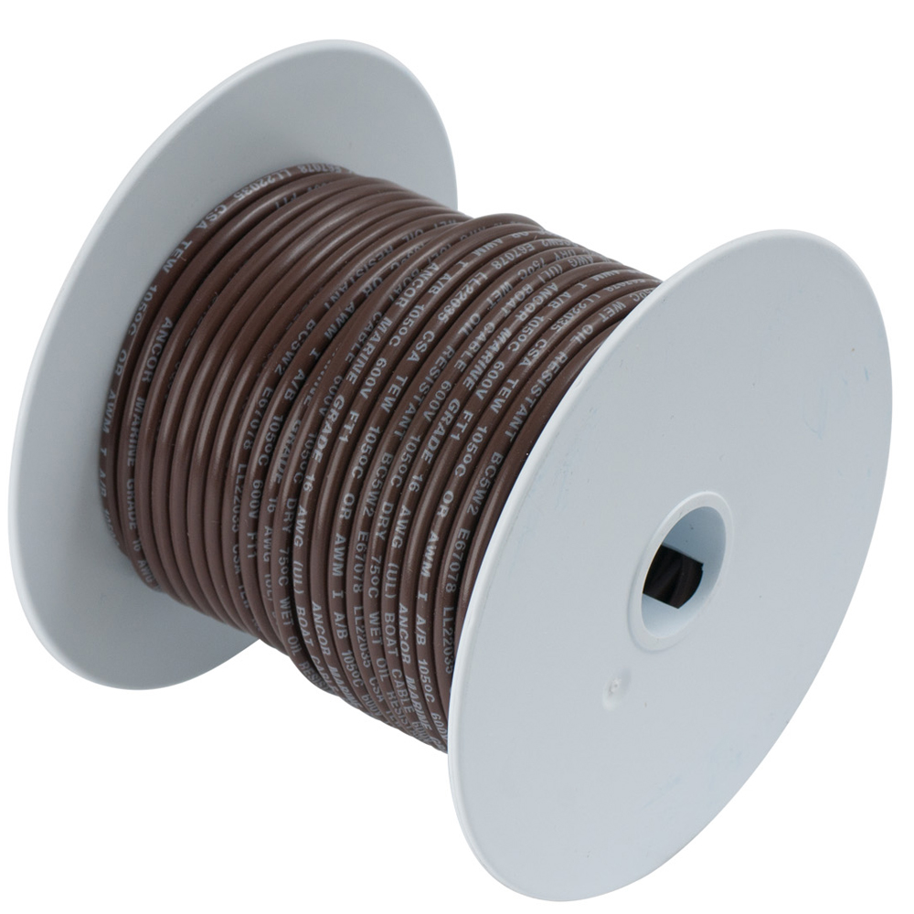 Ancor Marine Grade Tinned Copper Primary Wire, 16 ga