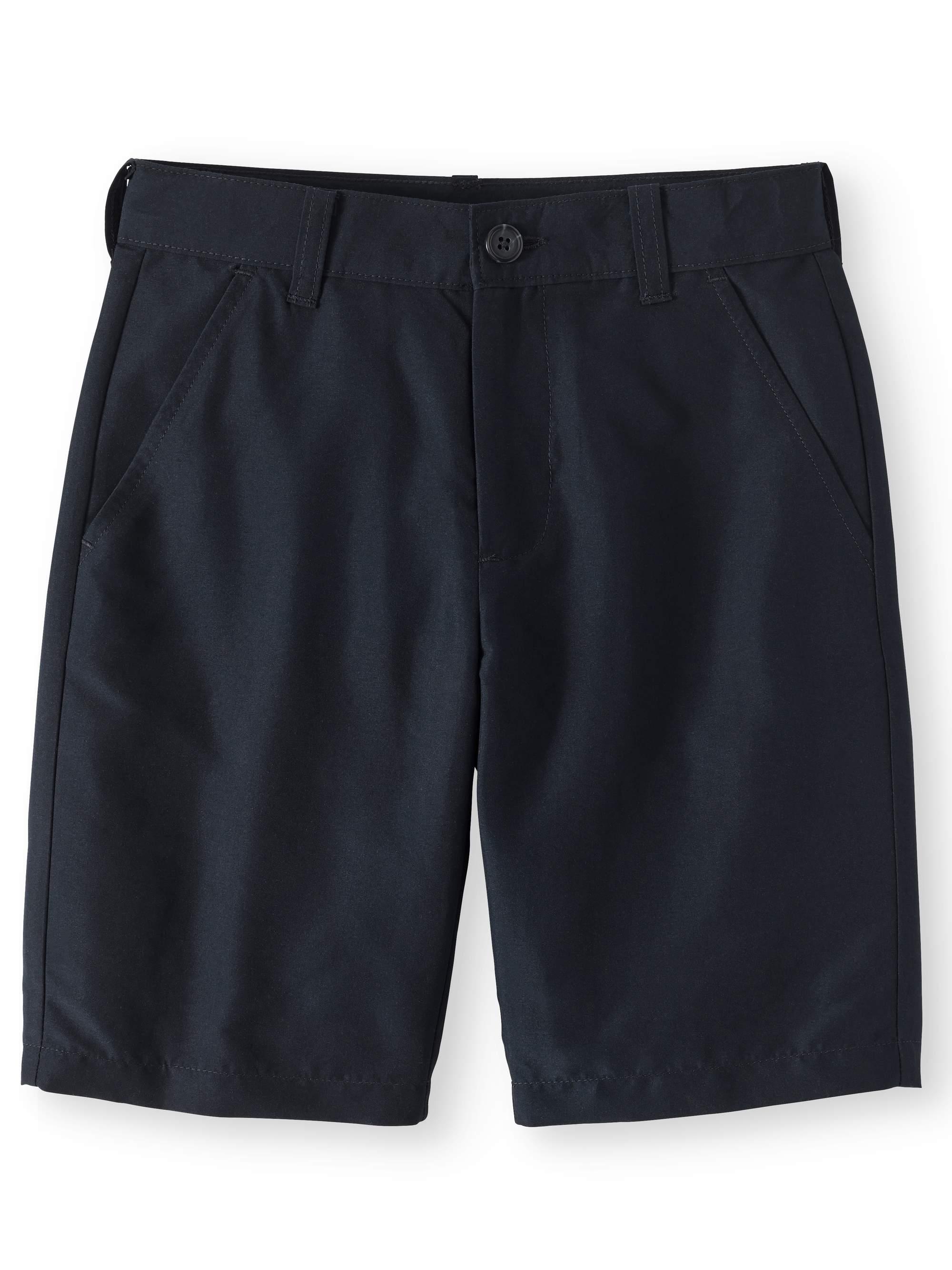 Boys School Uniform Performance Shorts