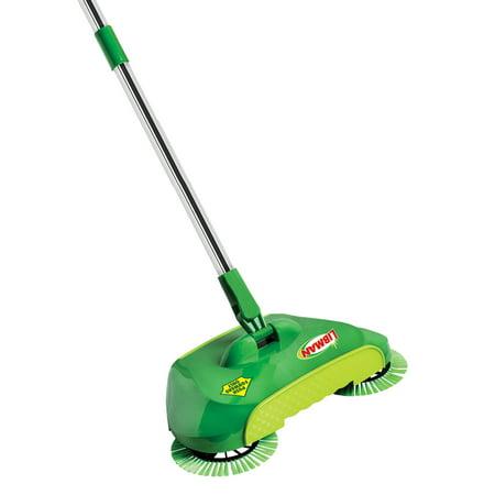 Libman Spiral Sweep Broom (Duo Sweep Lobby Broom)