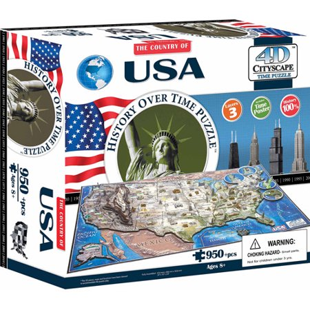 4D USA Time Puzzle (Other)