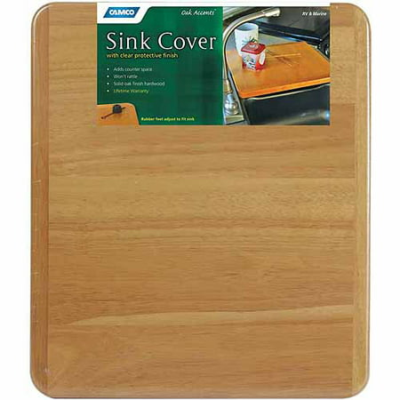Sink Cover (Camco Oak Accents Sink Cover, 13